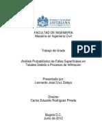 ANALISIS PROBABILISTICO DE FALLAS SUPEERFICICALES EN TALUDES POR INFILTRACION.pdf