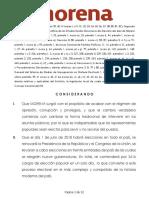 Convocatoria Procesos Internos de Seleccioìn de Candidatos 2017 2018 MORENA