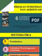 Kebijakan Akreditasi Puskesmas 75 Dan 46