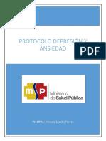 Protocolo de Depresion y Ansiedad