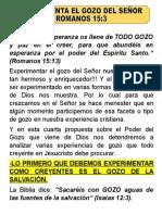 EXPERIMENTA EL GOZO DEL SEÑOR.doc