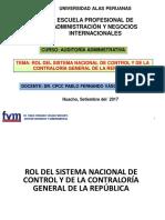 Modulo III- Rol Del Sistema Nacional de Control Gubernamental