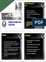7. Chip Seal Best Practices, Quint Davis