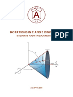 Rotations in 2 and 3 Dimensions