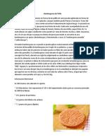 Hamburguesa de Pollo Informe