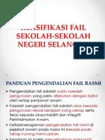 1. Klasifikasi Fail Sekolah Selangor
