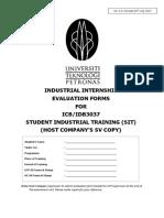Evaluation Booklet SIT IDB3037 HC SV Ver2