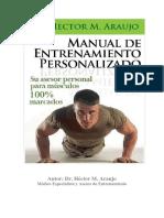 Cómo Lograr Definición Muscular Extrema PDF, Libro de Dr. Héctor M. Araujo