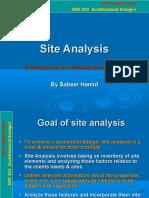 site analize.pdf