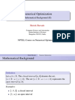 MathBackground II