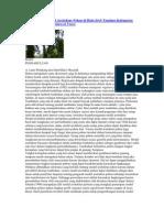 Diversitas dan Model Arsitektur Pohon di Hulu DAS Tondano Kabupaten Minahasa Provinsi Sulawesi Utara
