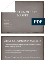 Indian Commodity Market