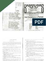 Don Quijano de la Pampa