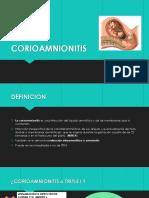 Corioamnionitis, Fp, Endometritis