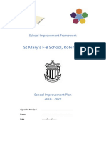 robinvale school improvement plan 2018-2022