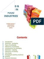 Packaging Labelling in Food Industri