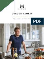 Gordon Ramsay Teaches Cooking Masterclass (WORKBOOK).pdf