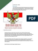 Sejarah Pembentukan (Lahirnya) UUD 1945 - Lengkap