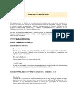 Especificaciones Tecnicas 03-07-2014