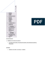 HIPOLIPIDEMIANTES, Antianemicos, Troboliticos, Anticoagulantes