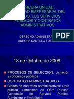 18 OCT Actividad Empresarial Del Estado Servicios Publicos y Contratos Administrativos