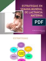 Estrategias de Lactancia Materna