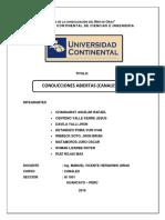 Informe Canal Concepcion Triana
