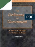 The Ordinances Of Government  Al Ahkam As Sultaniyyah