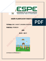 G.1.Diseño Planificacion Curricular II