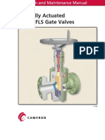 1-FL and FLS Gate Valve - Operation and Manintence