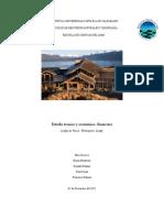 3er Avanze Estudio Tecnico y Economico