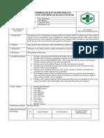 006. Bab 7.2.2.3 Sop Koordinasi Dan Komunikasi Ttg Informasi Kajian Klinis