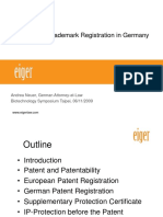 Patent- And Trademark Registration in Germany