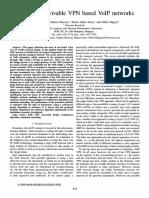 Design of survivable VPN based VoIP networks.pdf