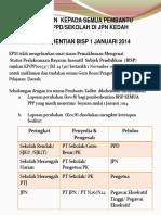 Henti Bisp 1 Januari 2014