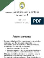 Productos Básicos de La Síntesis Industrial 2