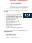 International Journal of Wireless Mobile Networks (IJWMN)