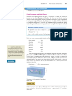 Fluid Pressure and Fluid Force