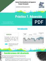 P.7 Adsorción