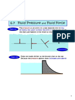 Fluid Pressure and Fluid Force-2