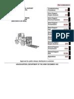 TM 10-3930-659-34 M544E TRUCK FORKLIFT NSN 3930-01-301-8250