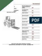 Beacon Light Linde Forklift Fork Lift Truck 000974