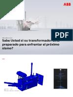 (Andrés Garzón) Aspectos Sísmicos en Transformadores de Potencia