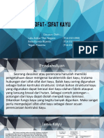 SIFAT-SIFAT KAYU
