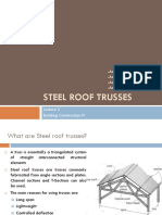 Steel Roof Trusses 2