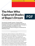 The Man Who Captured Shades of Bapu's Dream - The Wire