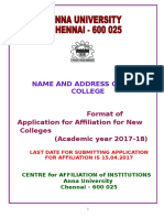 Application for New College 2017-18
