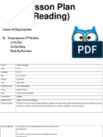 Lesson Plan (Reading)