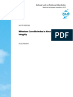 Milestone Case Histories in Aircraft Structural Integrity