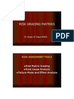 RIsk Grading Matriks